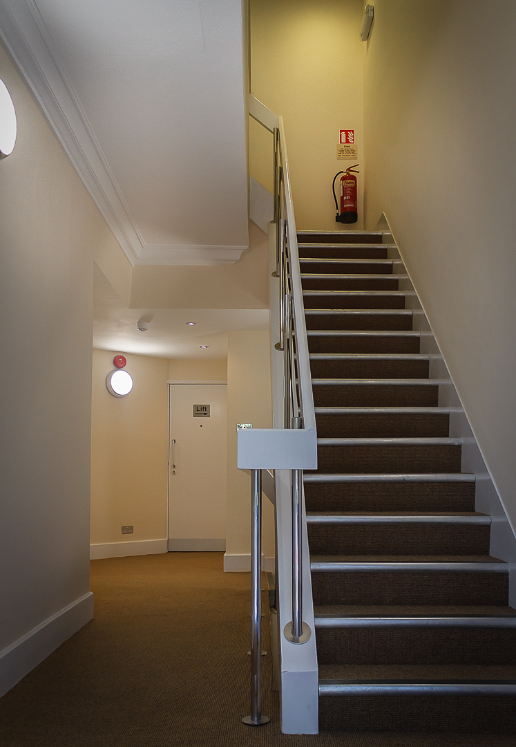 Sommerville House, Exeter: Entrance & Hallway Re-decoration No3.